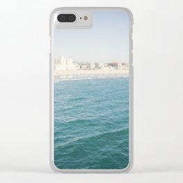 Santa Monica Beach II Clear iPhone Case