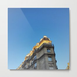 A bit of city under the sky Metal Print