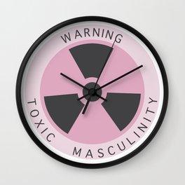 Toxic Masculinity Wall Clock