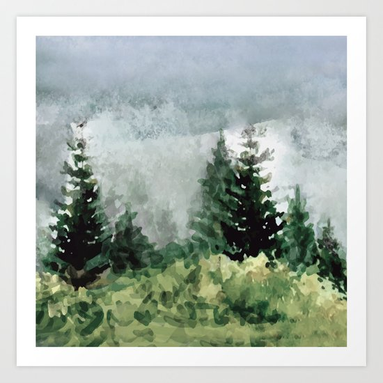 Pine Trees 2 by andreas12