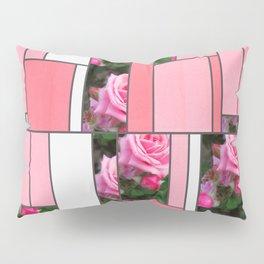 Pink Roses in Anzures 1 Art Rectangles 9 Pillow Sham