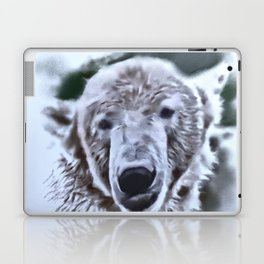 Animals and Art - Polar Bear Laptop & iPad Skin