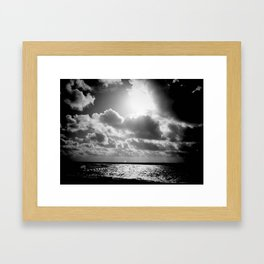 Rosey cheeks Framed Art Print