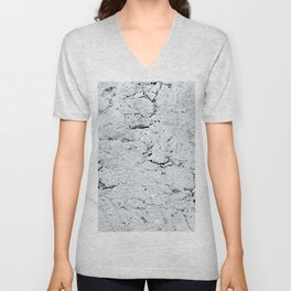 Old Stone Wall - textured III Unisex V-Neck