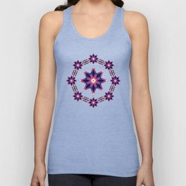 Morning Star Circle (Purple) Unisex Tank Top