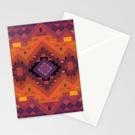 American Native Pattern No. 136 Stationery Cards