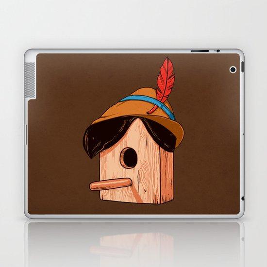 Woodpecker´s house Laptop & iPad Skin