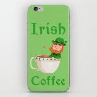 irish iPhone & iPod Skins featuring Irish Coffee by Supergna