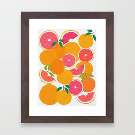 Grapefruit Harvest Framed Art Print