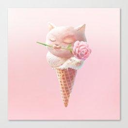 Summer Rose Canvas Print
