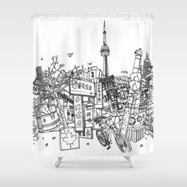 Toronto! Shower Curtain