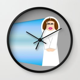 Princess Leia- You're My Only Hope Wall Clock
