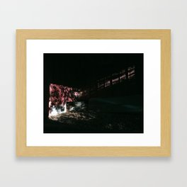 Chickahominy Haven / Dappled Light in Shed Framed Art Print