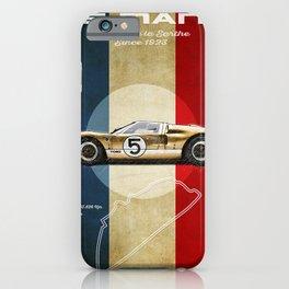 Le Mans Vintage GT40 iPhone Case