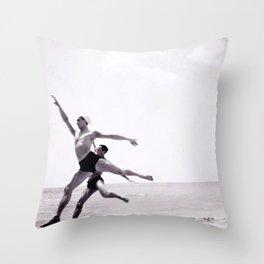 Ballet Monte-Carlo Beach Throw Pillow