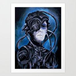 Borg Drone Art Print