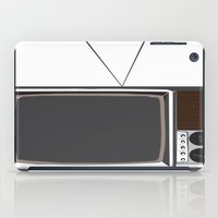 tv iPad Cases featuring Television by Jarom Ward