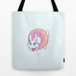 Bunnies - donut Tote Bag