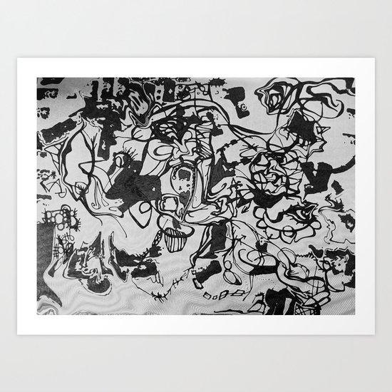 liquid journal Art Print