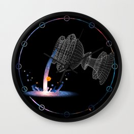 The Chalice of Space and Time Wall Clock