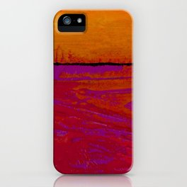 Square Abstract No. 8B by Kathy Morton Stanion iPhone Case