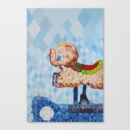 El Cerdofante Volador, The Flying Pigphant Canvas Print