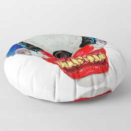 Creepy Clown Floor Pillow