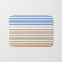 Cool Summer Stripes Badematte