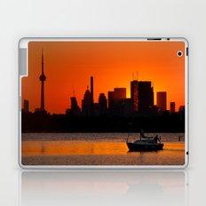 Sunset Sail Ashbridges Bay Toronto Canada Laptop & iPad Skin