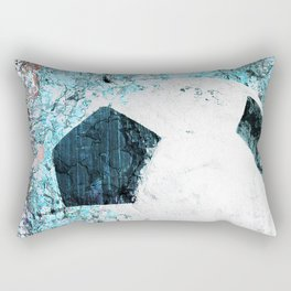 Soccer art Rectangular Pillow