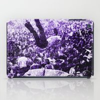 it crowd iPad Cases featuring Crowd by Jon Camo