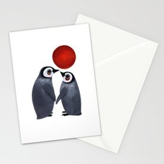 Penguin Love Stationery Cards
