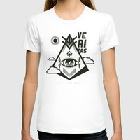 religious T-shirts featuring Vigilo Vos by ohzemesmo