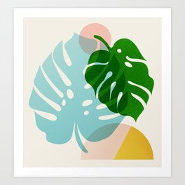 Abstraction_PLANTS_01 Art Print