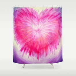 Purifying The Heart Shower Curtain