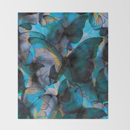 Morpho Throw Blanket