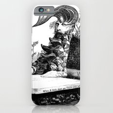 When I think about you, flowers grow out of my brain. iPhone 6s Slim Case