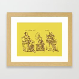 Now That's Dope Framed Art Print