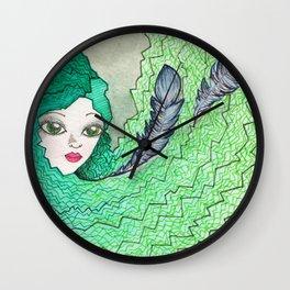 Plume Wall Clock