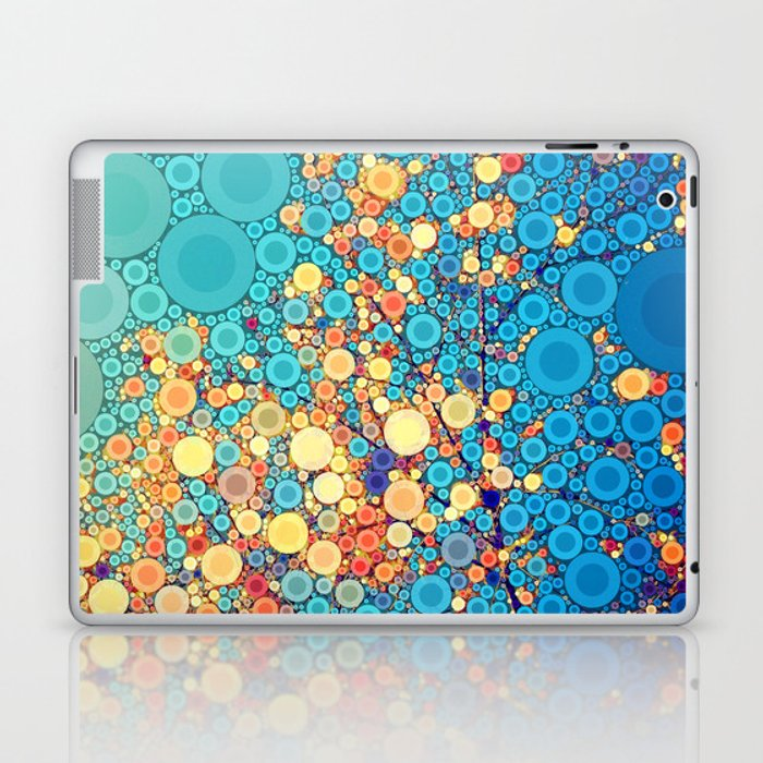 Sky and Leaves Laptop & iPad Skin