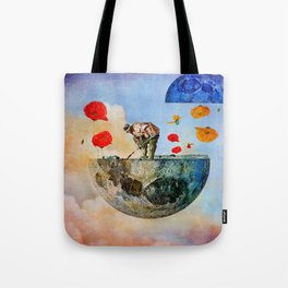 The gardener of the moon Tote Bag