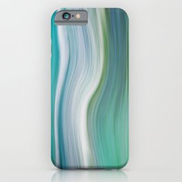 OCEAN ABSTRACT iPhone Case