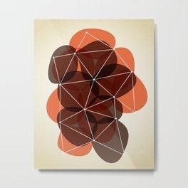 Origami 14 Metal Print