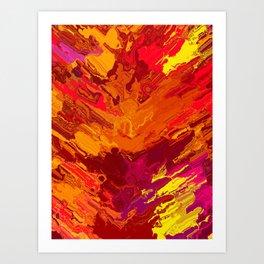 Cabelo Art Print