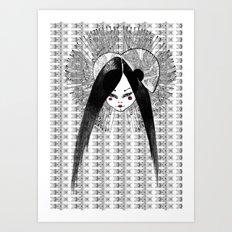 Ma Petite japonaise v3 Art Print