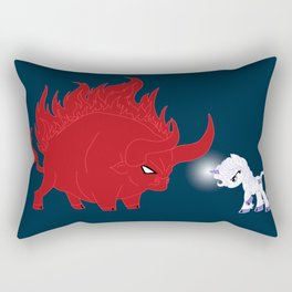 My Little Epic Battle Rectangular Pillow