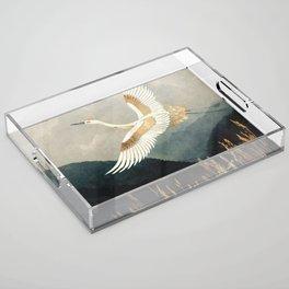 Elegant Flight Acrylic Tray