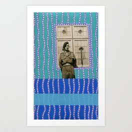 Window Portal Art Print