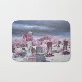 Stormy Cemetery Bath Mat