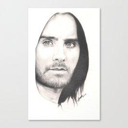 jared leto... Canvas Print